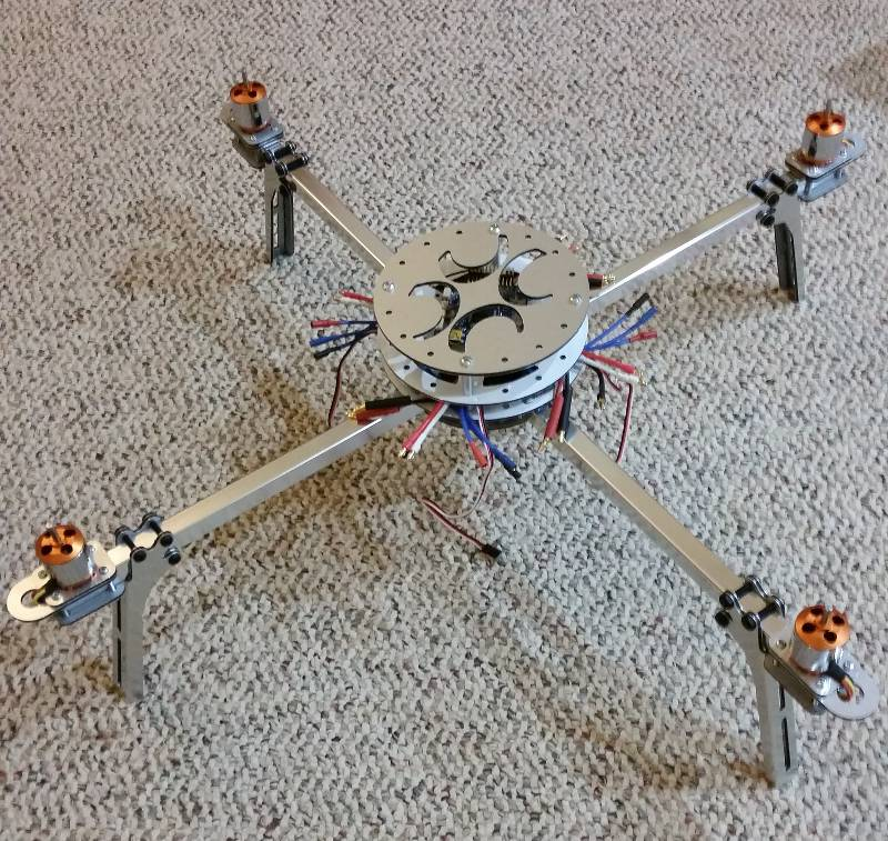 Half-finished AeroQuad